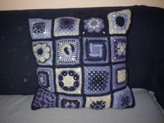 One of the cushions