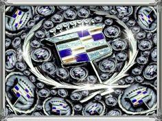 Cadillac emblem collage by Nova Cascone