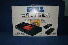 """SEGA MASTER SYSTEM CHINESE CHINESE 1 MODEL MASTER SYSTEM!COME IN ORIGINAL BOX, 2 CONTROLLERS, RF SWITCH, 220V ADAPTER, BILD-IN GAME """"HANG ON"""" AND INSTRUCTIONS ON EUROPEAN AND CHINESE LANGUAGE"""