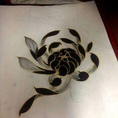 New Tattoo Traditional Neo Black Flower Ideas Rose Tattoos, Flower Tattoos, Body Art Tattoos, New Tattoos, Tattoos For Guys, Japanese Flower Tattoo, Japanese Flowers, Traditional Tattoo Flowers, Neo Traditional Tattoo