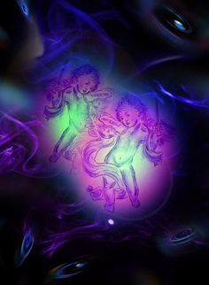 'Raum und Zeit 7 Himmlische Klänge' von Walter Zettl bei artflakes.com als Poster oder Kunstdruck $18.03