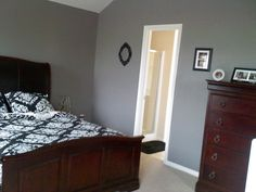 Creek Bend Behr Master Bedroom paint--- like this color. maybe hallway or rec room? Similar to color im doing kitchen in.