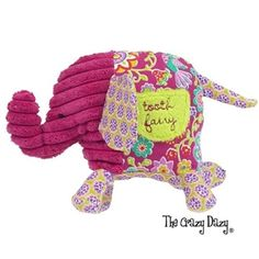 Maison Chic ELLIE THE ELEPHANT  TOOTH FAIRY PILLOW - $12.99