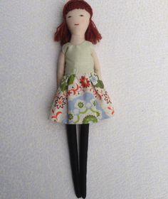 Cloth doll Handmade doll doll set play set soft doll by Dollisimo