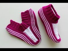 İki şişle tabandan başlanan kolay çorap patik yapılışı // çeyizlik patik modelleri - YouTube