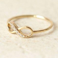 anillo infinitum plata  circonio