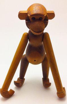 Wooden Monkey Zoo Line Money Inspired by Kay by LavishFindsbyCK