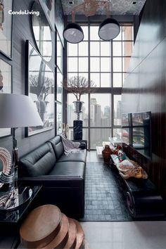 Chat Fores' Loft Condo Is An Eclectic Art Collector's Dream - CondoLiving Loft Design, Best Interior, Home And Living, Condo, Diy Projects, House, Ideas, Art, Art Background