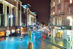 Buchanan Street - Glasgow | 20 second long exposure taken on… | Flickr