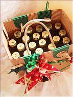 Whisky-Adventskalener Advent Calendar, Holiday Decor, Home Decor, Homemade Home Decor, Decoration Home, Interior Decorating