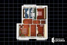 Appartamento in vendita a Milano zona Corvetto, Piazzale Angilberto. Luminoso ultimo piano con doppia esposizione, composto da ingresso, soggiorno, cucina abitabile, 3 camere, doppi servizi e ripostiglio, 3 balconi