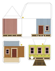 PaperToy - Up House 003