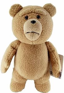 """Ted Movie 16 Inch DELUXE """"PG"""" Version Plush Figure with Sound & Moving Mouth Pre-Order ships February"""