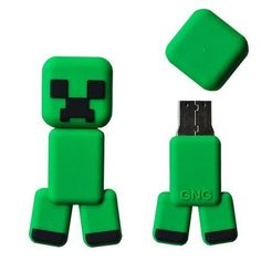 Minecraft Creeper Flash Drive!