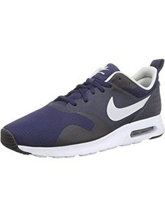 Nike Men's Air Max Tavas Mdgnt Nvy/Ntrl Gry/Drk Obsdn Running Shoe 10 Men US ❤ Nike
