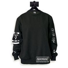 Michael Clifford Tattoos Sweatshirt Sweater Crew Neck Shirt Add Clifford  95 – Size S M L XL