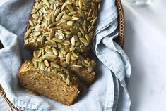 Get the recipe for seeded miso sweet potato bread. Good Sweet Potato Recipe, Sweet Potato Bread, Sweet Potato And Apple, Sweet Potato Wedges, Sweet Potato Chips, Salad With Sweet Potato, Sweet Potato Soup, Mashed Sweet Potatoes, Sweet Potato Casserole