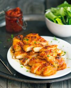 Sticky Harissa Chicken: http://www.theironyou.com/2014/11/sticky-harissa-chicken.html