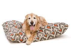 West Paw - Pillow Pet Bed (Ikat Sunset)