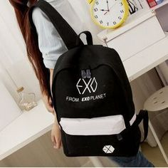 >>>Low Price2016 new Women's Colorful Canvas Backpacks Rucksacks Men Student School Bags For Girl boy Casual Travel EXO bags Mochila B1402016 new Women's Colorful Canvas Backpacks Rucksacks Men Student School Bags For Girl boy Casual Travel EXO bags Mochila B140Low Price Guarantee...Cleck Hot Deals >>> http://id957612083.cloudns.ditchyourip.com/32700307339.html images
