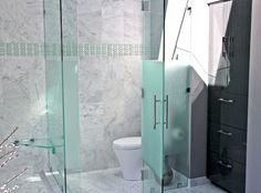 Glass Water Closet