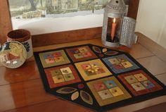 Apliques de lana patrón La cocina de por HorseAndBuggyCountry