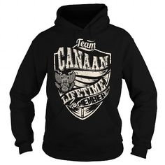 Awesome Tee Last Name, Surname Tshirts - Team CANAAN Lifetime Member Eagle T shirts