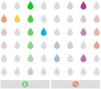 SMARTboard:  click on the raindrops to create tunes