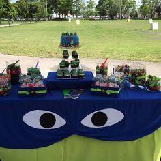 Resultado de imagen para decoracion mesa principal ninja turtle