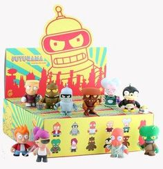 I want the Robot Devil soo badly. So far I have acquired: Mom, Fry and Bender.
