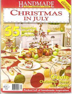 Handmade  vol 25  no 9 Christmas in July