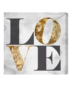 Another great find on #zulily! Oliver Gal 'Build on Love Stone' Wall Art by Oliver Gal #zulilyfinds