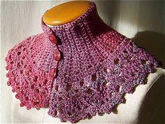 Crochet Neckwear   Free Crochet Patterns & Free Knitting Patterns Doily Towel Edge Patterns crochê lace
