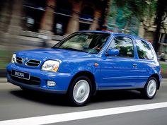 Nissan Micra 3-door (1999 – 2003).
