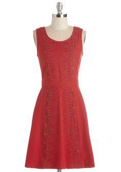 Well-Red Gal Dress | Mod Retro Vintage Dresses | ModCloth.com