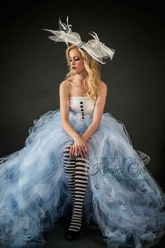 Alice in Wonderland dress: