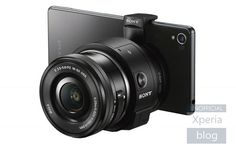 Sony's next smartphone-mounted camera will let you change lenses by Steve Dent | 9/2/14