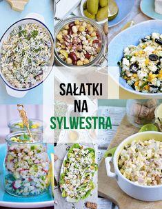 Moja smaczna kuchnia: Sałatki na Sylwestra Spaghetti, Breakfast, Food, Morning Coffee, Essen, Meals, Yemek, Noodle, Eten