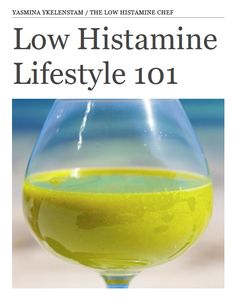 Wondering where to start with the low histamine diet? Check out my FREE 40 page ebook Low Histamine Lifestyle 101