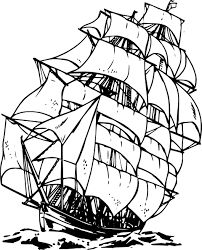 Image result for spanish galleon line drawing