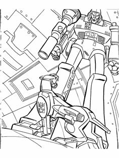 Transformers Printable Coloring Pages | Free Printable ...
