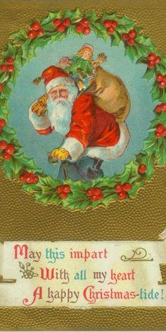 ~ Santa and his pack.~