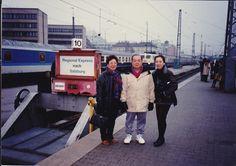 Salzburg ... we took train to all  eastern Europe....