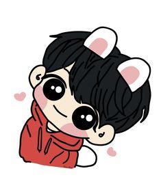 #bts #rm #suga #jin #hoseok #jimin #_v #jungkook #army Bts Chibi, Anime Chibi, Anime Manga, Cool Art Drawings, Bts Drawings, Bts Book, Jungkook Cute, Drawing Wallpaper, Cartoon Fan