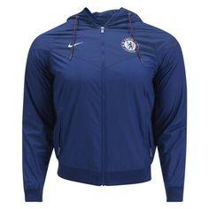 a4cd0e6bf41 Nike Chelsea Football Club Windrunner Windbreaker Jacket FC Soccer (L) Large