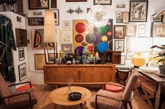 Ty & Lynne's Colorful Chicago Studio