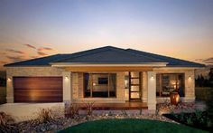 From building your dream home, property investment to house and land, Metricon has the answer. Hip Roof Design, Facade Design, Exterior Design, Model House Plan, My House Plans, Small House Design, Modern House Design, Build Your House, Building A House