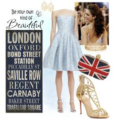 """""""Be your own kind of beautiful in London"""" by veradediamant on Polyvore"""