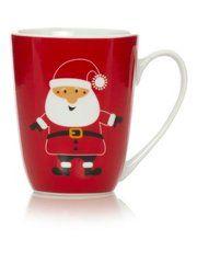 George Home Santa Mug