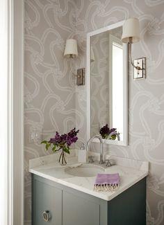 love the wallpaper   Liz Caan